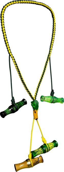 Avian-X Topflight Painted 4-Loop Mallard Lanyard