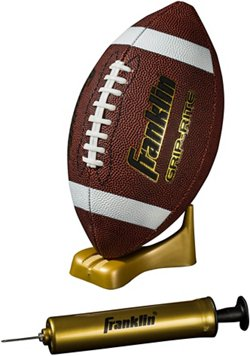 Franklin Junior Grip-Rite Football and Pump Set