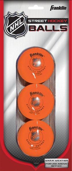 Franklin High-Density Street Hockey Balls 3-Pack