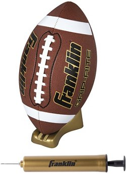Franklin Grip-Rite Football and Pump Set