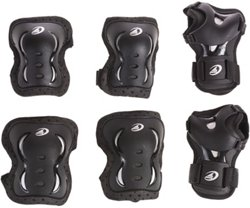 Rollerblade Adults' Bladegear XT In-Line Skate Protective Pad Set