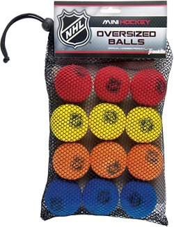 Franklin NHL 2 in Mini Hockey Balls 12-Pack