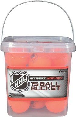 Franklin HD Street Hockey Balls 15-Pack