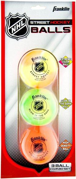 Franklin NHL 3-Piece Hockey Ball Set