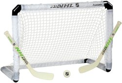 Franklin NHL Light-Up Mini Hockey Goal Set
