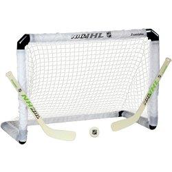 NHL Light-Up Mini Hockey Goal Set