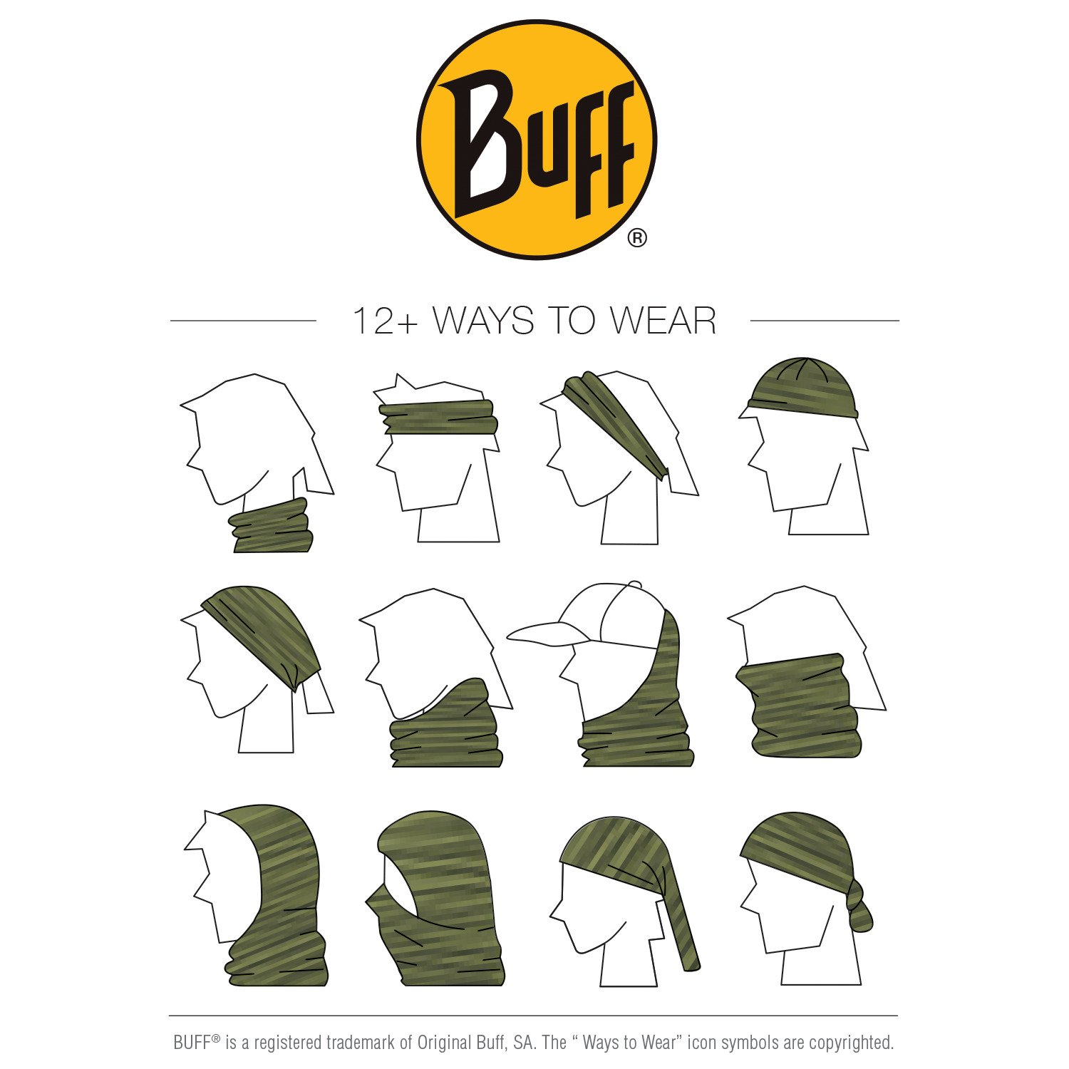 Buff High-UV Protection Headware - view number 2