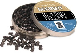 Beeman .22 Caliber Round Pellets 175-Pack