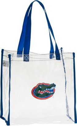Forever Collectibles University of Florida Clear Reusable Bag