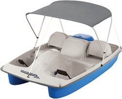 Water Wheeler ASL Electric Pedal Boat with Canopy