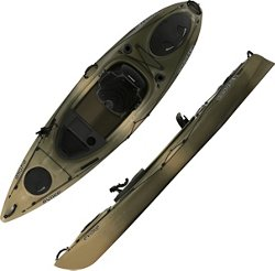 Evoke Conquer 100 10 ft Camo Sit-In Fishing Kayak