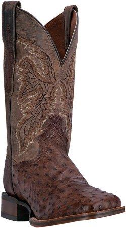 Dan Post Men's Alamosa Ostrich Skin Western Boots