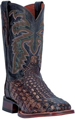 Dan Post Men's Everglades SQ Caiman Skin Western Boots