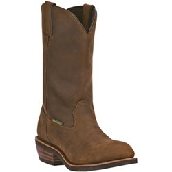 Men's Albuquerque Leather Steel Toe Wellington Work Boots
