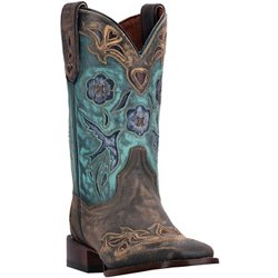 Women's Bluebird Sanded Leather Western Boots