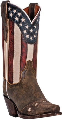 Dan Post Women's Liberty Vintage Leather Western Boots