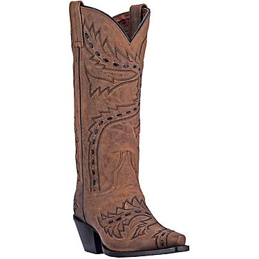 d2295773d5d Dan Post Women's Sidewinder Mad Cat Leather Western Boots