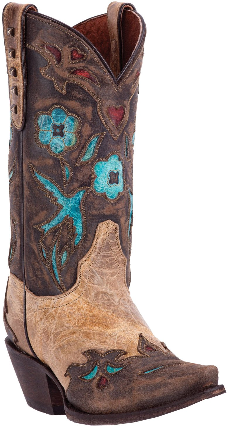 Dan Post Women's Vintage Bluebird Leather Western Boots - view number 1