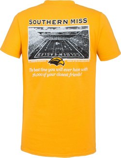 New World Graphics Men's University of Southern Mississippi Friends Stadium T-shirt