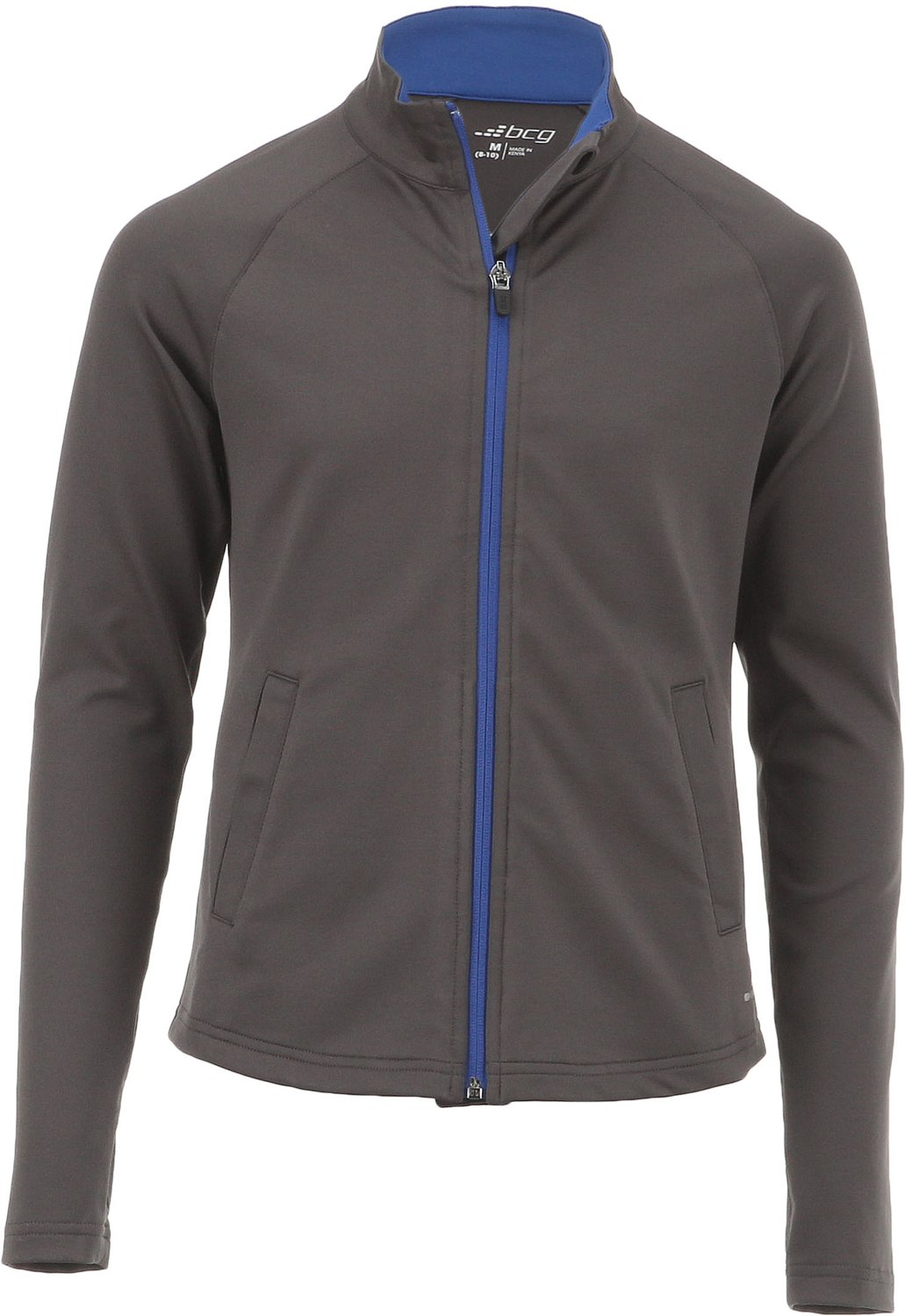 Display product reviews for BCG Girls' Performance Full Zip Training Jacket