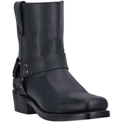 Men's Rev-Up Snoot Toe Dogger Motorcycle Boots