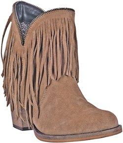 Women's JuJu Fashion Round Toe Tall Western Boots