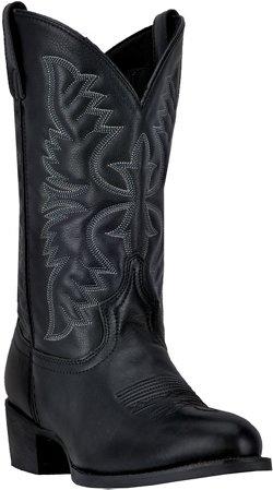 Laredo Men's Birchwood Tumbled Leather Western Boots