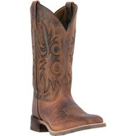 Laredo Men's Cowboy Approved Durant Leather Western Boots