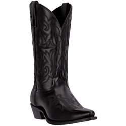 Men's Hawk Leather Western Boots
