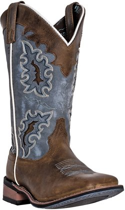 Laredo Women's Isla Distressed Leather Western Boots