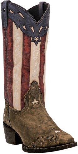 Laredo Women's Keyes Leather Western Boots