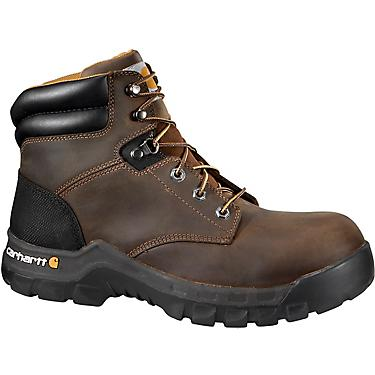 ebf58b8a848 Carhartt Men's 6 in Rugged Flex EH Composite Toe Lace Up Work Boots