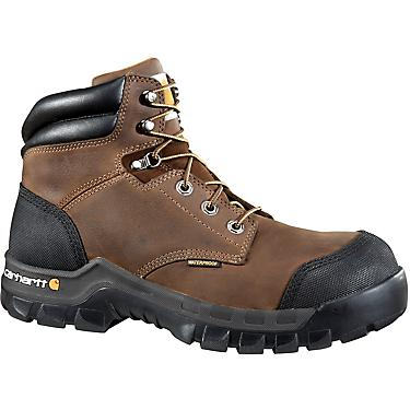 18a7bfd37c3 Carhartt Men's 6 in Rugged Flex EH Composite Toe Lace Up Work Boots