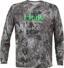 Men's Kryptek Performance Raglan Long Sleeve Shirt