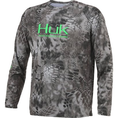 458cd7baae1 Huk Men s Kryptek Performance Raglan Long Sleeve Shirt