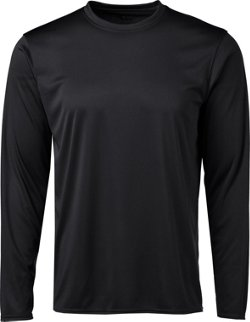 BCG Men's Turbo Long Sleeve Crew Neck T-shirt