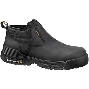 Carhartt Men's Force 4 in EH Composite Toe Slip-On Work Boots