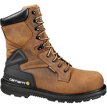 Carhartt Men's 8 in Lace Up Work Boots