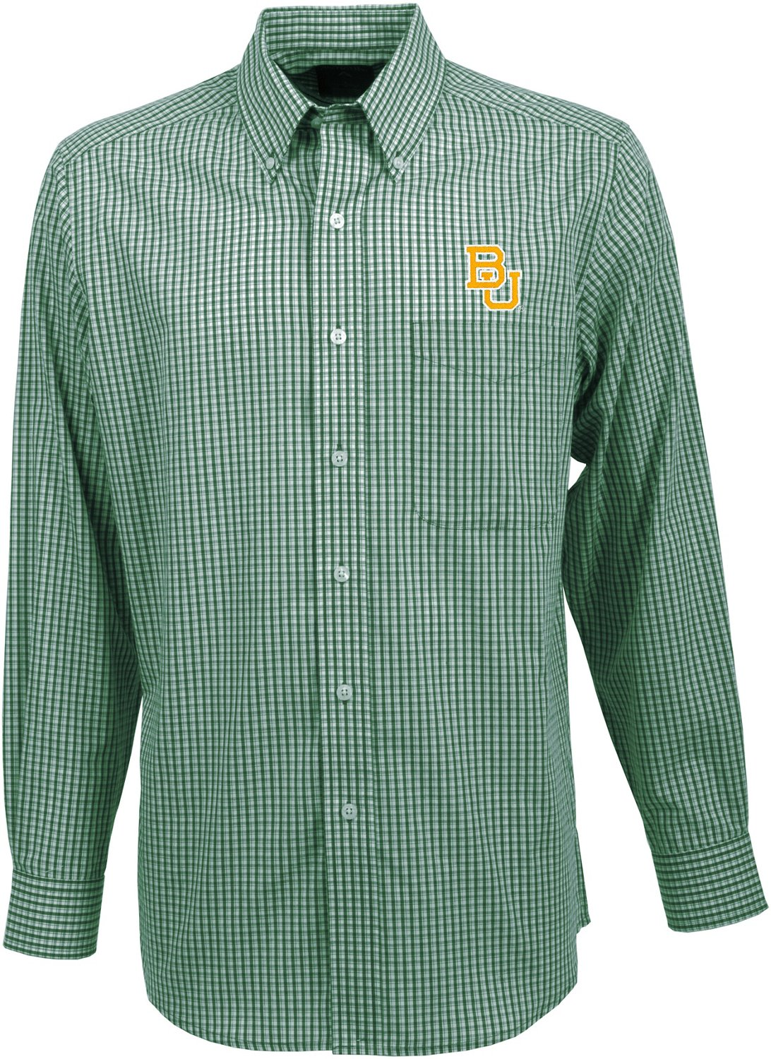 Antigua Men's Baylor University Associate Long Sleeve Dress Shirt
