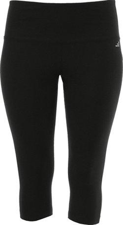 BCG Women's Tummy Control Plus Size Capri Pant