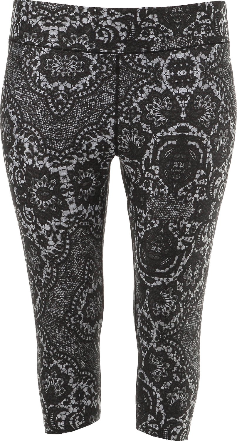 300dcc5ecfeda Display product reviews for BCG Women s Printed Plus Size Capri Pant