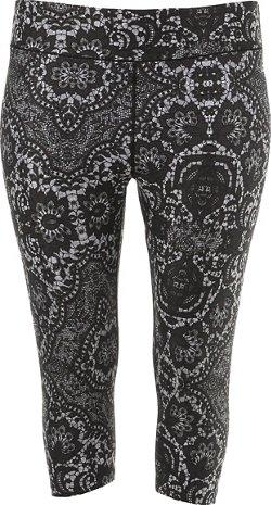 BCG Women's Printed Plus Size Capri Pant
