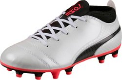 PUMA Boys' PUMA ONE 17.4 Jr. Firm Ground Soccer Shoes