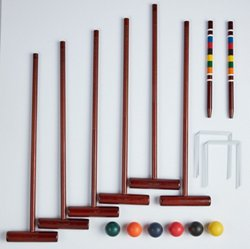 AGame Deluxe 6-Player Croquet Set