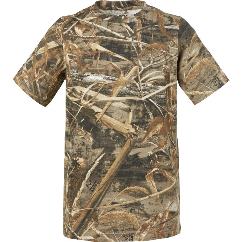 Magellan Outdoors Kids' Hill Zone Short Sleeve T-Shirt, X-Small – Youth Non-Insulated Camo at Academy Sports
