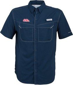 Columbia Sportswear Men's University of Mississippi Low Drag Offshore Short Sleeve Shirt