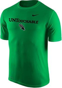 Nike Men's University of North Texas Dri-FIT Legend 2.0 Short Sleeve T-shirt