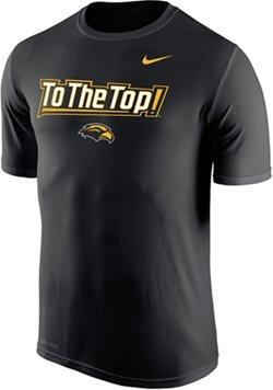 Nike Men's University of Southern Mississippi Dri-FIT Legend 2.0 Short Sleeve T-shirt