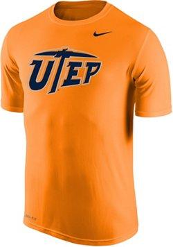 Nike Men's University of Texas at El Paso Dri-FIT Legend 2.0 Short Sleeve T-shirt