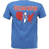 New World Graphics Men's Louisiana Tech University Stripe Nation T-shirt
